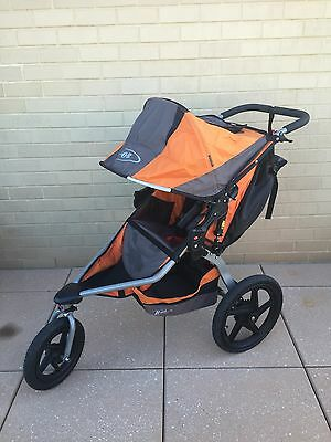Bob Revolution Baby Jogger Stroller Orange & Black Great Condition!!!!