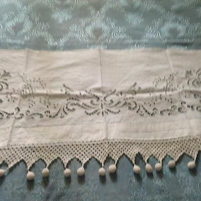 Beautiful Vintage Curtain