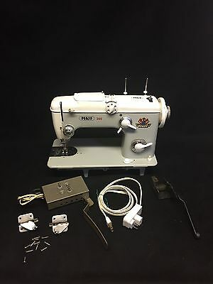 HEAVY DUTY PFAFF 260 INDUSTRIAL STRENGTH SEWING MACHINE, leather, upholstery