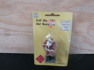 Aristocraft Seated Train Engineer Santa New In Package LGB USA