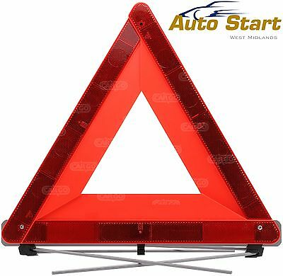 large reflective warning car triangle for emergency breakdown e-approved