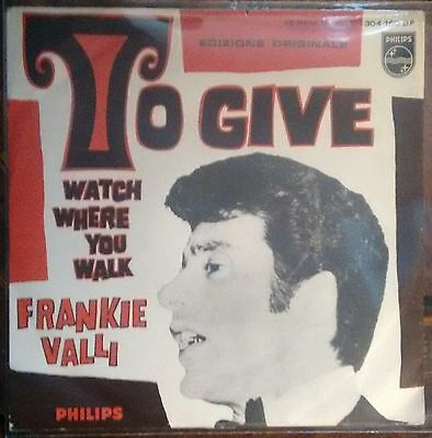 "Dischi In Vinile 45 Rpm 7"" Frankie Valli To Give"