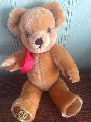 Merrythought Classic london gold mohair collectors bear