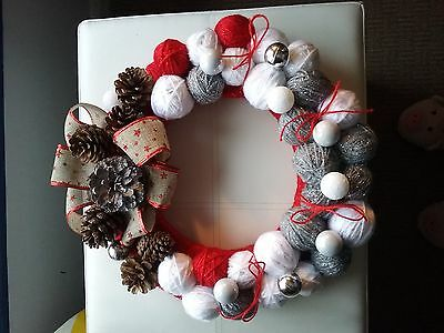 Wreath Christmas hand made