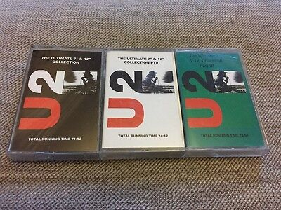 """U2 The Ultimate 7"""" & 12"""" Collection Cassette"""