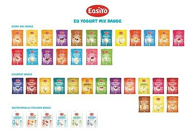 Easiyo Yogurt Pick N Mix 3 or 4 Packets from 30 Different Flavours