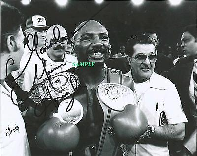 Marvin Hagler Reprint Autographed Signed Picture Photo Collectible Auto Boxing