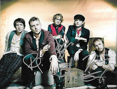 One Republic Band #1 Reprint Autographed Signed Picture Photo Auto Collectible