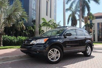 2010 Honda CR-V EX-L Sport Utility 4-Door 2010 Honda CR-V EX-L 4WD LOADED FLORIDA Car! ONLY 36K Miles NO Damage History!