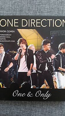 "One Direction- 1D- , Buch ""One&Only"", Nadia Cohen, UK 2012, 130 Seiten, Boygroup"