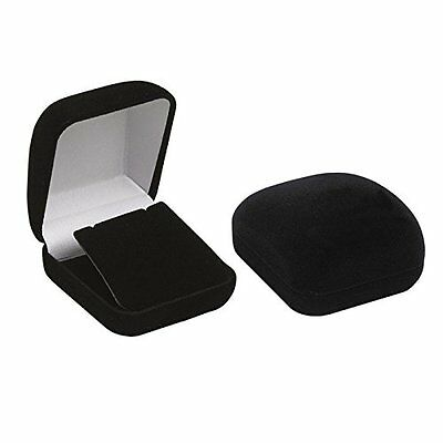 FindingKing 1 X 6 Black Flocked Earring Pendant Jewelry Gift Boxes