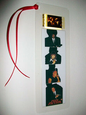 PULP FICTION  Movie Film Cell Bookmark