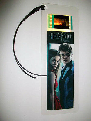HARRY POTTER 7 (Deathly Hallows pt.1) Movie Memorabilia Film Cell Bookmark