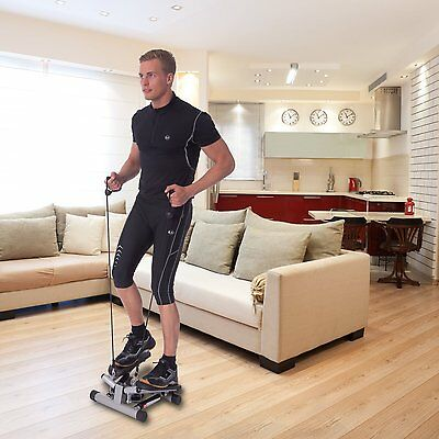 Stepper Exercise Fitness Machine Step Swing Stair Cardio  Home Legs Resistance
