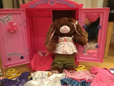 Build a Bear Bundle - Wardrobe, Toy and clothes
