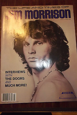 The Life and Times of JIM MORRISON magazine Vintage 1990 Vol 1 NO 3 POSTER