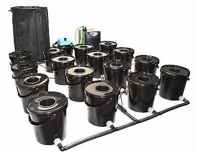16 POT RDWC HYDROPONIC SYSTEM RECIRCULATING  alien iws bigbud canna good deal