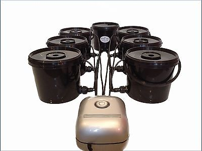 Deep Water Culture Dwc 6 Pot Hydroponic System Small Nets Not Iws, Alien, Rdwc