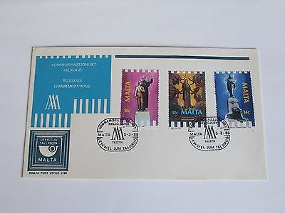 1988 Malta First Day Cover NO ADDRESS