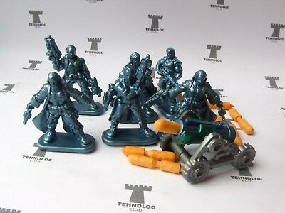 Set of 6 Wasteland Raiders Sci-Fi Figures Russian Toy Soldiers 40 mm Tehnolog