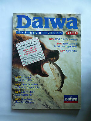 Daiwa 1997 Fishing Tackle/Equipment Guide/Catalogue (Rods/Reels/Fly/Sea)