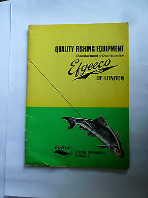 Vintage EFGEECO Fishing Tackle/Equipment Guide/Catalogue