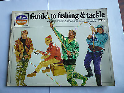 Vintage Milbro 1972 Fishing Tackle/Equipment Catalogue/Guide