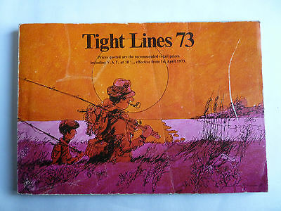 Abu Garcia Tight Lines 1973 Fishing Tackle/Equipment Guide/Catalogue