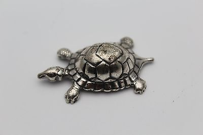 Tortoise Turtle 800 solid silver