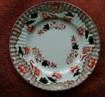 Antique Gaudy Welsh side plate