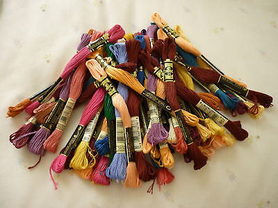 DMC Threads Pack of  40 skeins   ( Pick Your Own Colours)