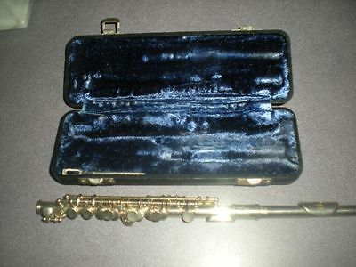 Vintage Armstrong Elkhart # 28 Student Piccolo  With Case