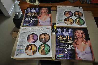 Buffy The Vampire Slayer Limited Edition Collector Plates Series 2