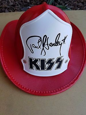 Kiss Paul Stanley Firehouse Hat