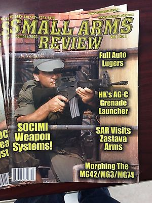 Small Arms Review Magazine volume 7 number 3 December 2003