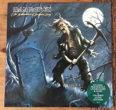 """Iron Maiden - The Reincarnation Of Benjamin 10"""" Clear Vinyl Ep Never Played 2006"""