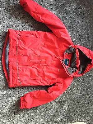 Trespass Red Winter Padded Waterproof Coat Age 13-14
