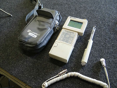 Kanomax Climomaster 6511 Thermo-Anemometer And 6118 Probe & Case
