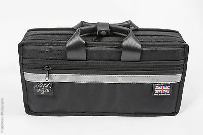 Double clarinet case for Bb and Eb ( or flute)