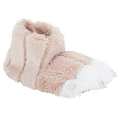 Size 4 Unicorn Claw Childrens Slippers In Pink