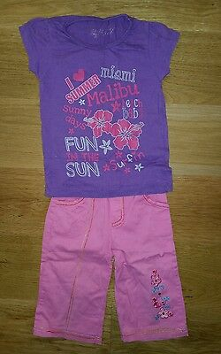 Girl's cropped trousers to 3 years