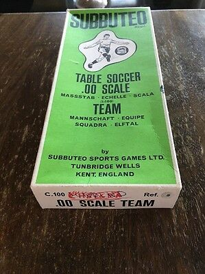 Subbuteo HW Box With Ref 9 As Pictures
