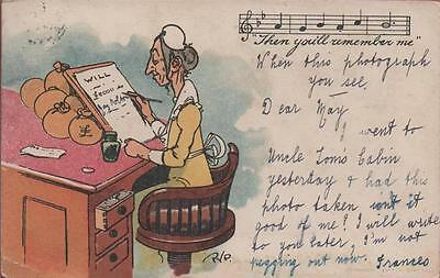 Artist Signed Pyp Then You'll Remember Me 1904