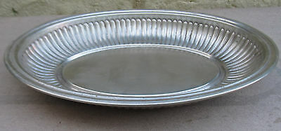 Antique Silver Plated Meat Dish, Patent No.5360
