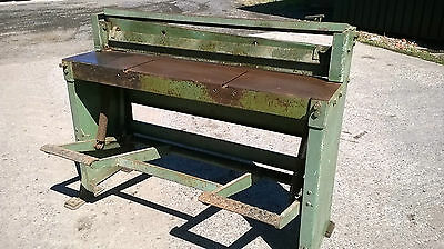 """Edwards Foot Treadle Guillotine  50"""""""