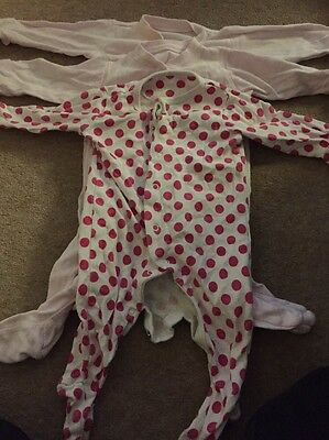 mothercare sleepsuits 3-6 Months