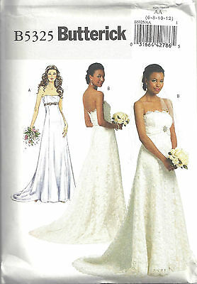 Butterick Pattern 5325 Wedding Gown Sized to Fit My Size Barbie