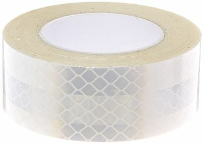 """3M 3430 White Reflective Tape 1"""" width x 5yd length (1 roll)"""