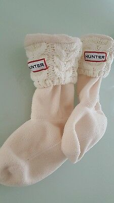 hunter wellie socks size