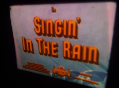 8Mm Super 8 Mm Sound Film-Singing In The Rain Compilation,vgc.